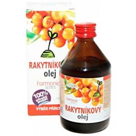 Rakytníkový olej 100% 150 karotenoidů z plodů a semínek 100 ml