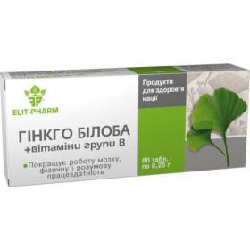 Gingko Biloba s vitamínem C 40 tablet
