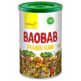 Baobab prášek BIO 150 g Wolfberry