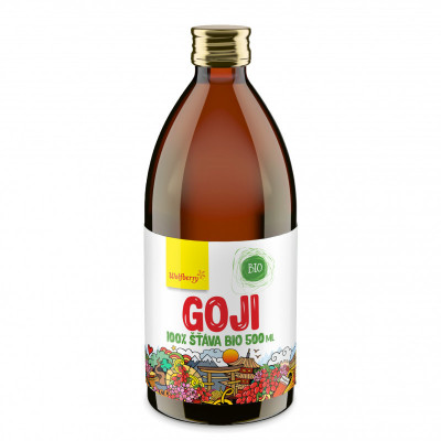Goji šťáva BIO 500 ml Wolfberry