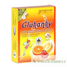 Glukanky ovoce 30 pastilek