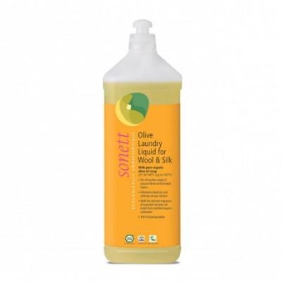 Olivový prací gel na vlnu a hedvábí 1l Sonett