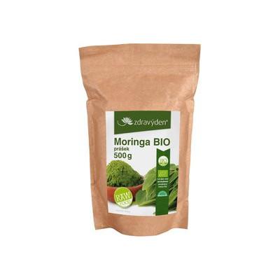 Moringa BIO RAW prášek 500 g Zdravý den