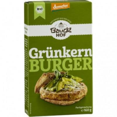 6 x Bauckhof Bio Směs na Burger se zelenou špaldou, 160g