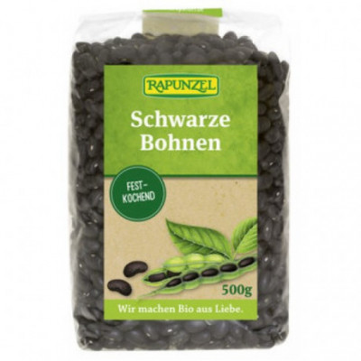 6 x Rapunzel Bio Černé fazole, 500g