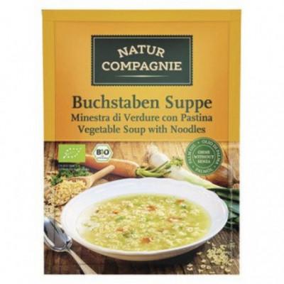 12 x NaturCo Bio Písmenková polévka, 50g
