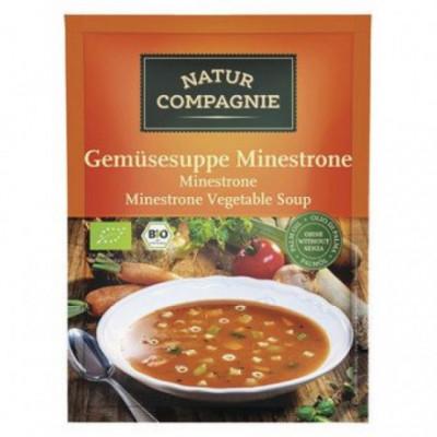 12 x NaturCo Bio Zeleninová polévka Minestrone, 50g