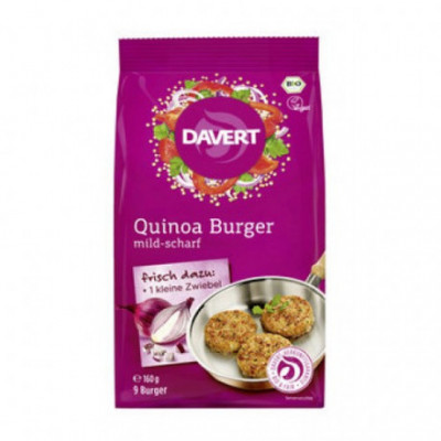 6 x Davert Bio Zeleninový Quinoa Burger, 160g