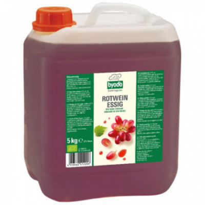 Byodo Bio Ocet z červeného vína 6%, 5l