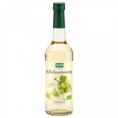 6 x Byodo Bio Ocet z bílého vína 6%  0,5l
