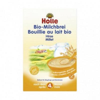 6 x Holle Bio Mléčná kaše jáhlová, 250g