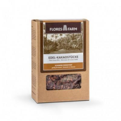 6 x FloresFarm Bio Kakaové boby sekané 100g
