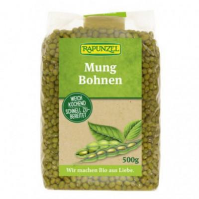 6 x Rapunzel Bio Mungo fazole, 500g