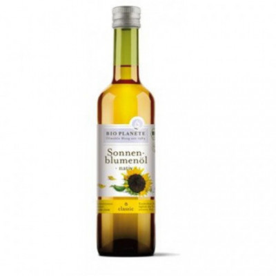 6 x BioPlanete Bio Slunečnicový olej, 0,5l