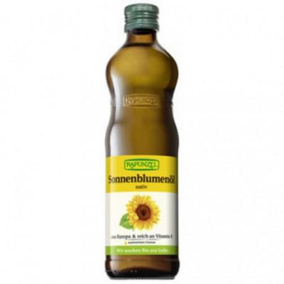 6 x Rapunzel Bio Slunečnicový olej, 0,5l