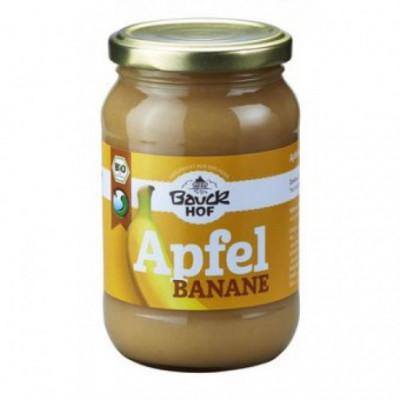 12 x Bauckhof Bio Pyré Jablko a Banán- bez cukru, 360g