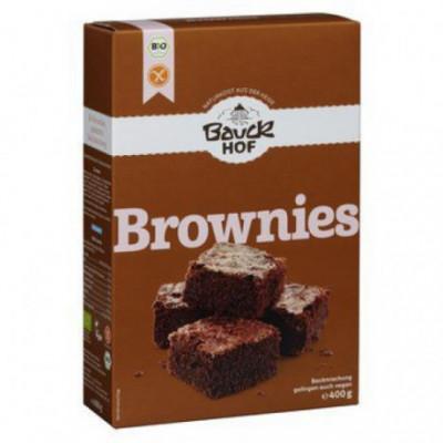 6 x Bauckhof Bio Směs na Čokoládové Brownies bez lepku, 400g