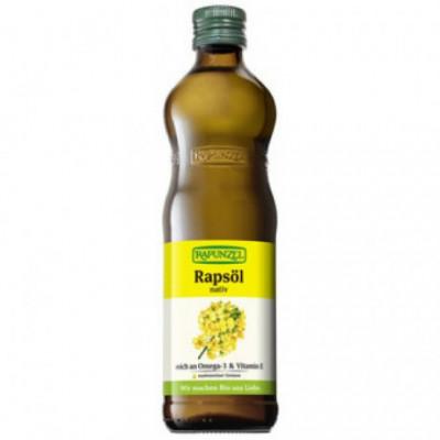 6 x Rapunzel Bio Řepkový olej, 0,5l