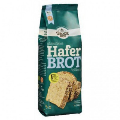 6 x Bauckhof Bio Chlebová směs ovesná bez lepku, 500g