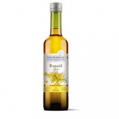 6 x BioPlanete Bio Řepkový olej, 0,5l