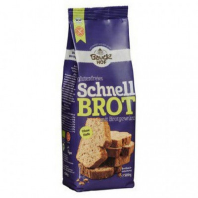 6 x Bauckhof Bio Směs na Chléb s kořením bez lepku, 500g