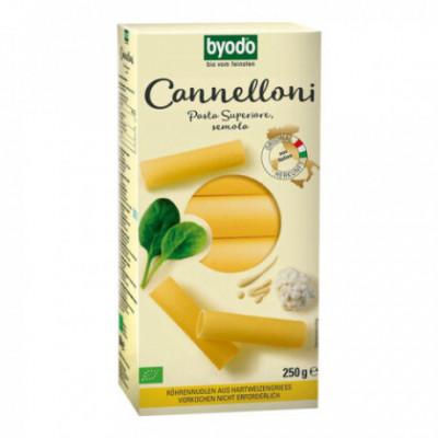 12 x Byodo Bio Cannelloni z tvrdé pšenice, 250g
