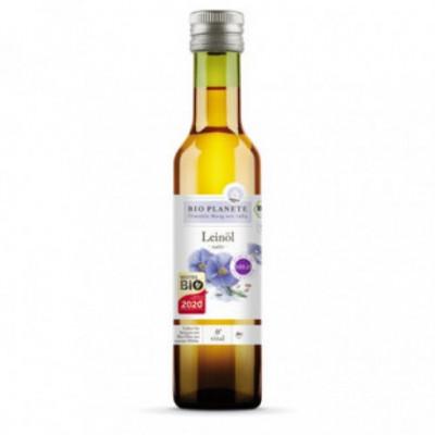6 x BioPlanete Bio Lněný olej, 0,25l