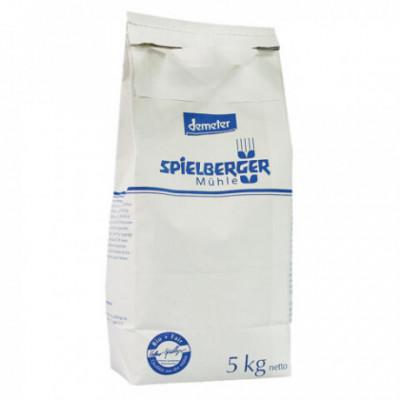 3 x Spielberger Bio Mouka pšeničná polohrubá světlá, 5kg