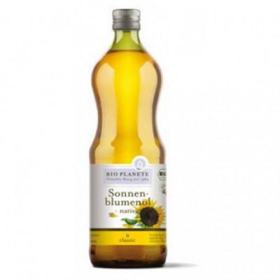 6 x BioPlanete Bio Slunečnicový olej, 1l