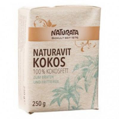 12 x Naturata Bio 100% Kokosový tuk, 250g