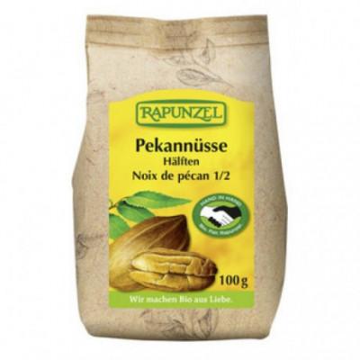 8 x Rapunzel Bio Pekanové ořechy půlené, 100g