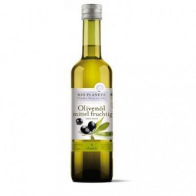6 x BioPlanete Bio Olivový olej střední, 0,5l