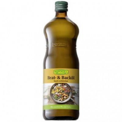 6 x Rapunzel Bio Slunečnicový olej na smažení, 1l
