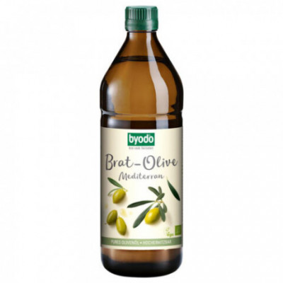 6 x Byodo Bio Olej olivový na smažení, 0,75l