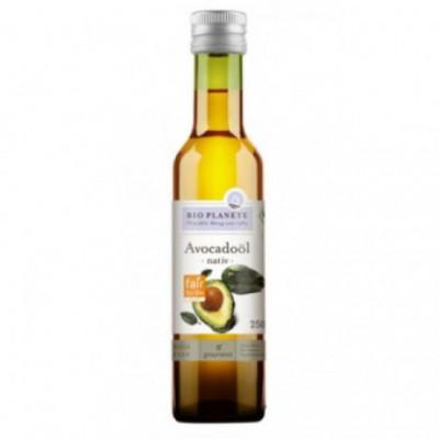 6 x BioPlanete Bio Avokádový olej, 0,25l