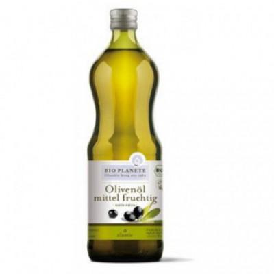 6 x BioPlanete Bio Olivový olej střední, 1l