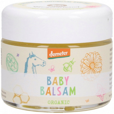 Wegwartehof Bio Baby balzám pro citlivou pokožku, 50ml