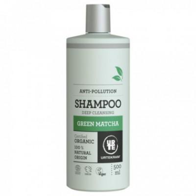 Urtekram Bio Vlasový šampon Green Matcha, 500ml