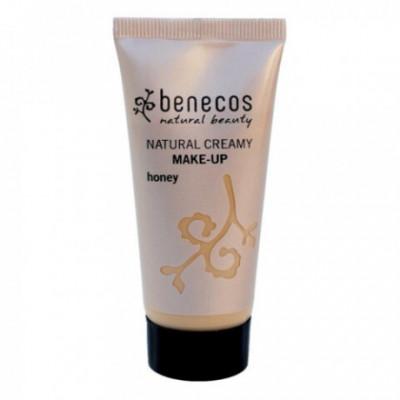 Benecos Bio Krémový make-up Honey, 30ml