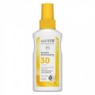 Lavera Bio Opalovací sprej Sensitiv SPF30, 100 ml