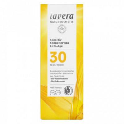 Lavera Bio Opalovací krém Anti Age SPF 30, 50ml