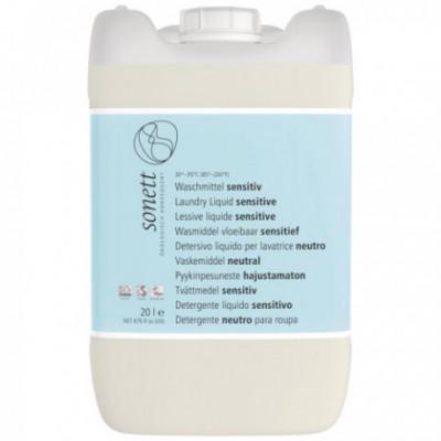Sonett Eko Prací gel Sensitive, 20L