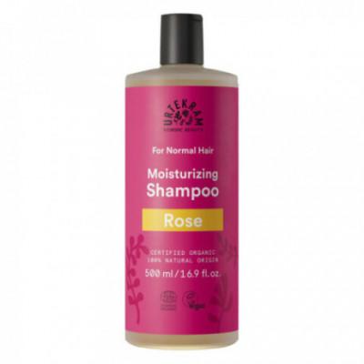 Urtekram Bio Šampón s růží pro normální vlasy, 500ml