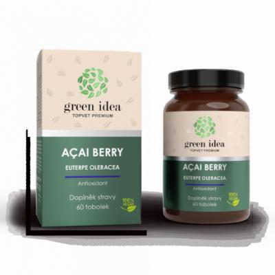 GREEN IDEA Acai berry bylinný extrakt