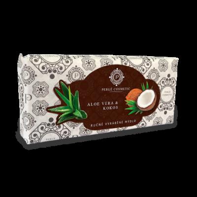 Perlé Cosmetic Aloe vera a kokos - mýdlo 115g