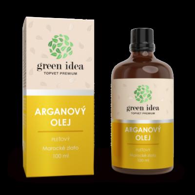 GREEN IDEA Arganový pleťový olej 100ml