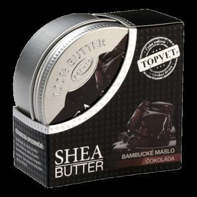 GREEN IDEA Bambucké máslo (shea butter) s čokoládou 100ml