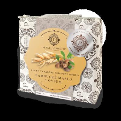 Perlé Cosmetic Bambucké máslo s ovsem - mýdlo 115g