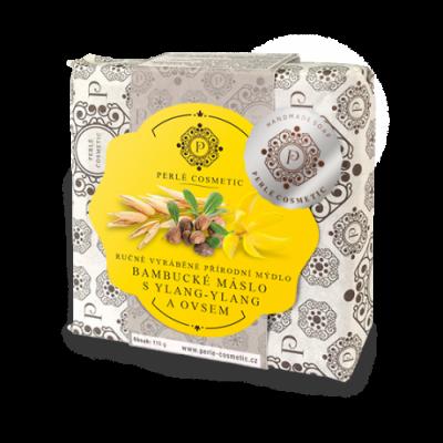 Perlé Cosmetic Bambucké máslo s ylang-ylang a ovsem -...