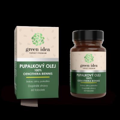 GREEN IDEA Pupalkový olej 60ks